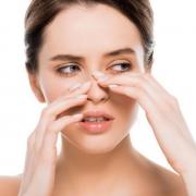 Nose skin type in rhinoplasty